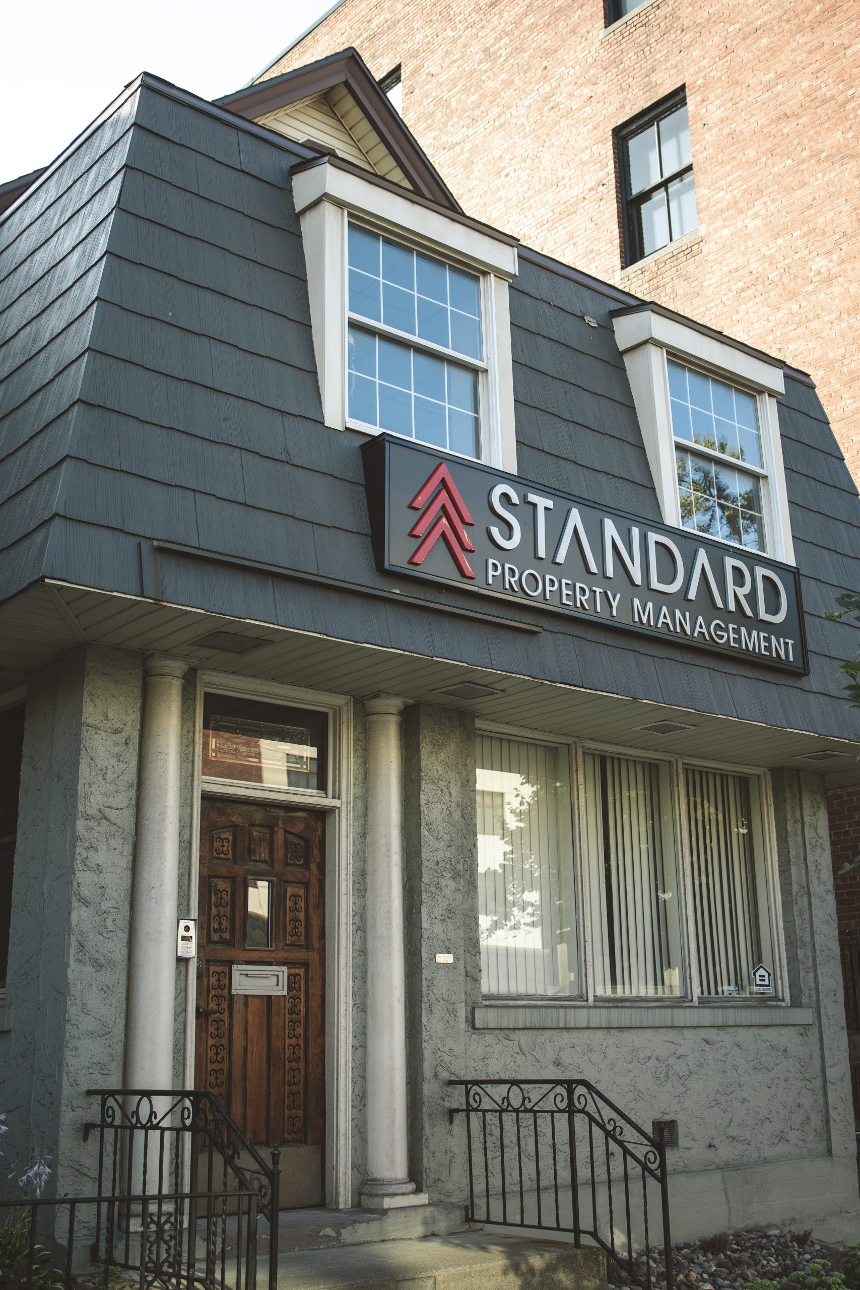 Standard Property Management office exterior at 367 Delaware Ave in Buffalo NY