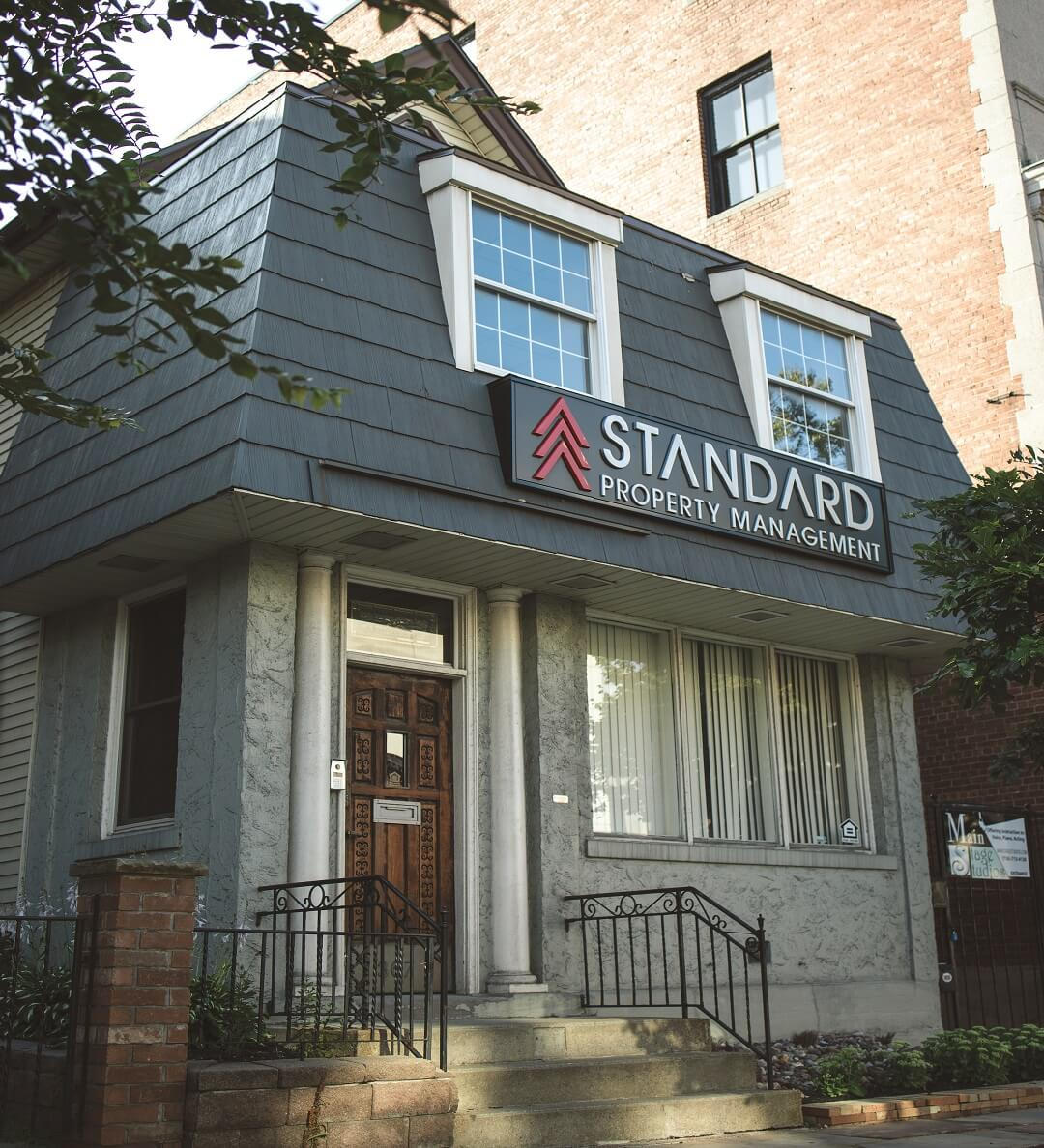 Standard Property Management office at 367 Delaware Ave, Buffalo, NY